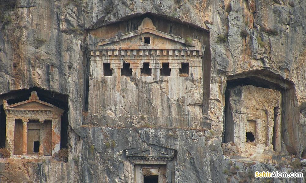 Fethiye Kral Amyntas Mezarı